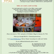 VPSS - Fundraising for India
